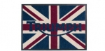 Triumph Union Flag Door Mat